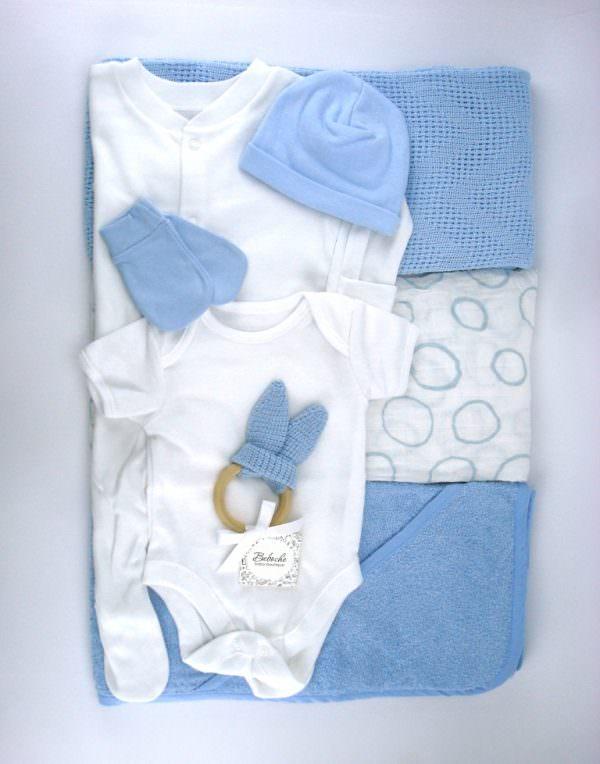 Подаръчен комплект за изписване на бебе момче