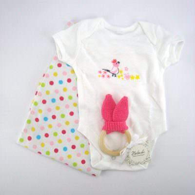 Бебешки комплект за бебе момиче