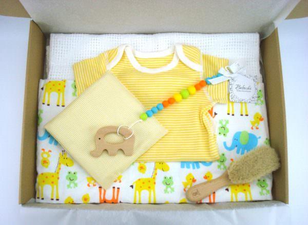 кутия подарък за бебе момче