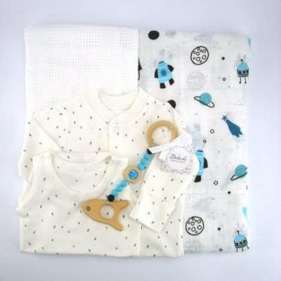 Комплект за новородено бебе момче