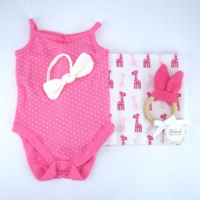 Подарък за погача за бебе момиче