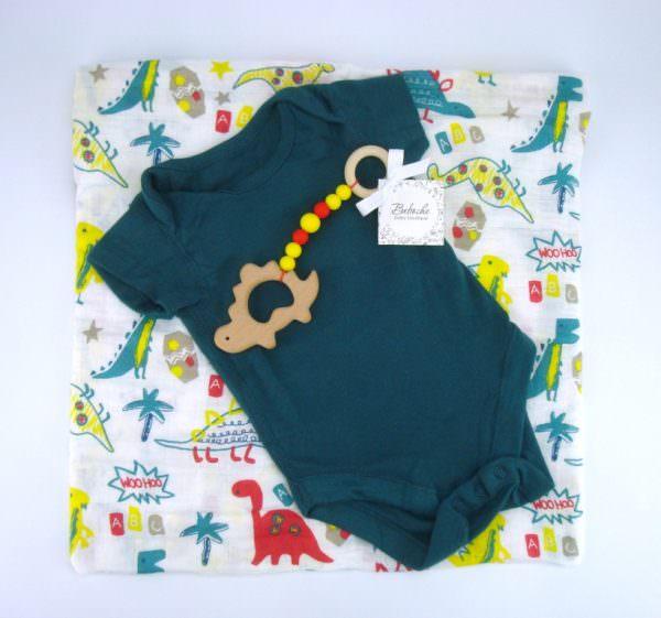Кутия подарък за погача за бебе момче
