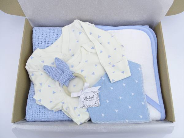 Подарък за погача на бебе момче