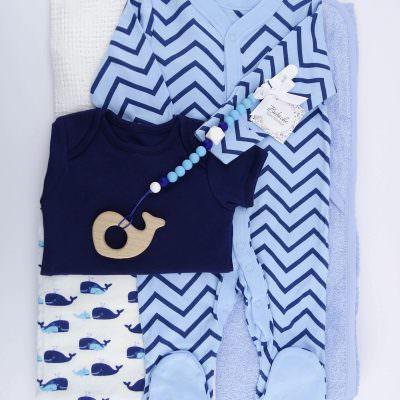 Комплект за 40 дни на новородено момче
