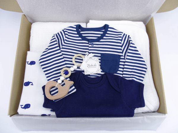 Бебешка кутия за подарък на момче