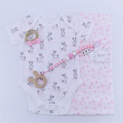 Персонализиран подарък за погача на бебе момиче