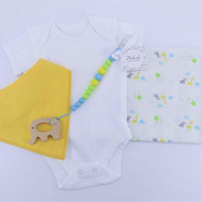 Комплект за погача на новородено момче
