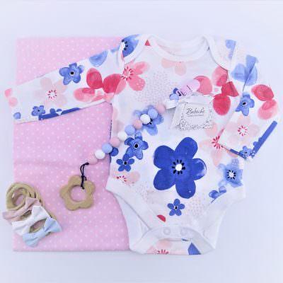 Кутия подарък за 40 дни на бебе момиче